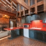 1970s-red-and-black-kitchen
