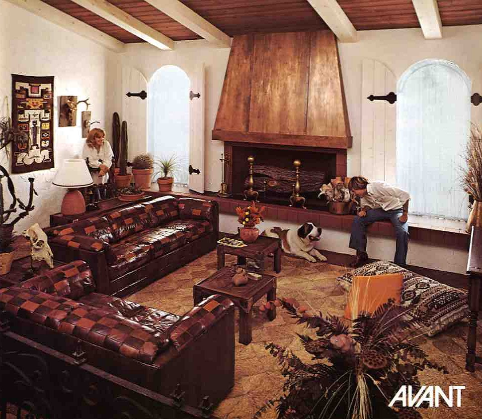 Fun Living Room Furniture: 10 Kroehler Sofas And Loveseats From 1976