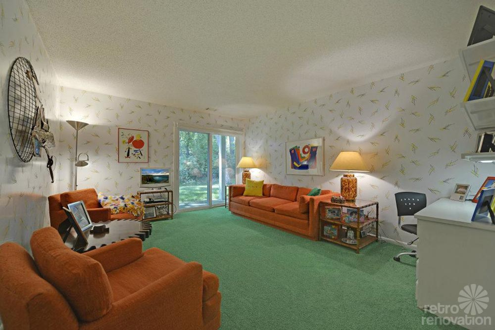 1980 time capsule house impeccable fabulous in for Living room 80s