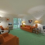 80s-green-and-orange-living-room