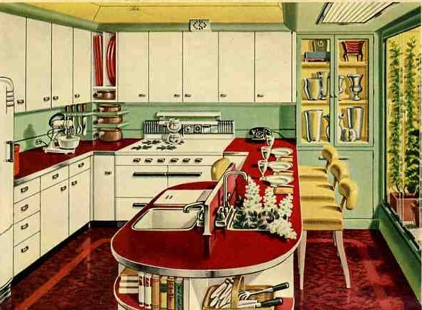 1946 kitchen Retro Kitchen Products and Ideas  Renovation