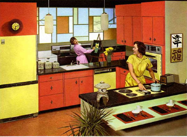 Can I Describe The History Of Kitchens From 1946 To 1966 In The Captions Of  24 Photos? Here Is A Cheerful Cliffs Notes Attempt That Includes: Modular  Sink ...