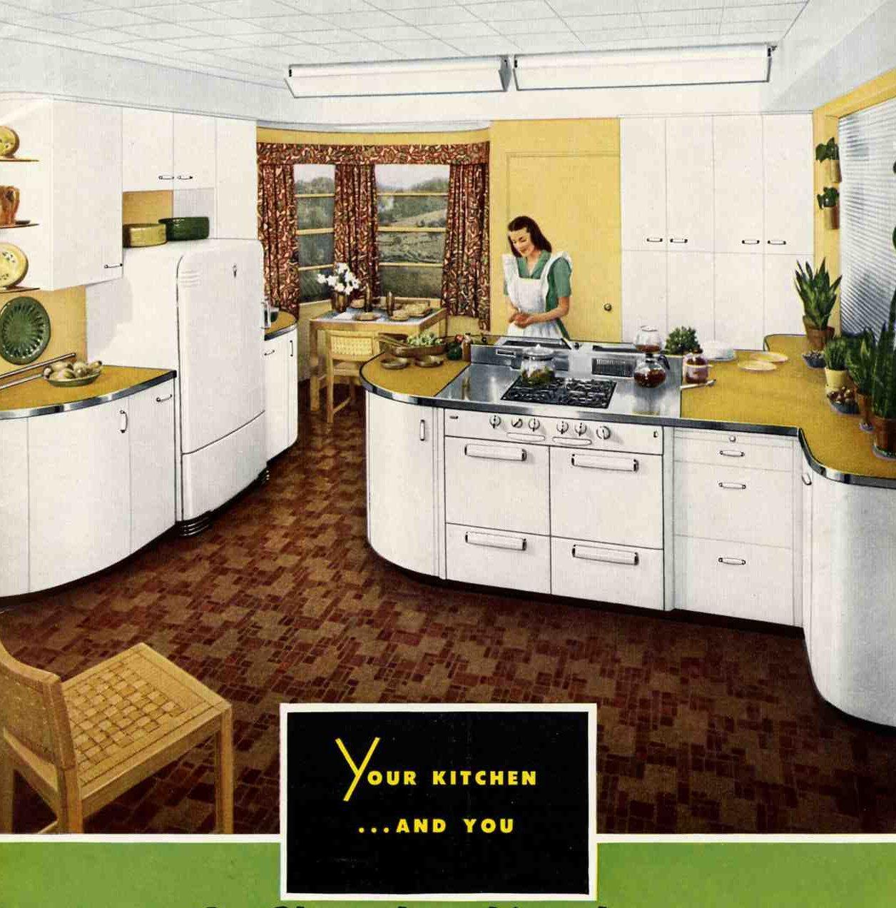 Retro St Charles White Kitchen