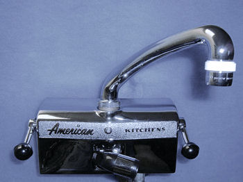 A special faucet for vintage American Brand kitchen drainboard ... | (title} | vintage kitchen sink faucets