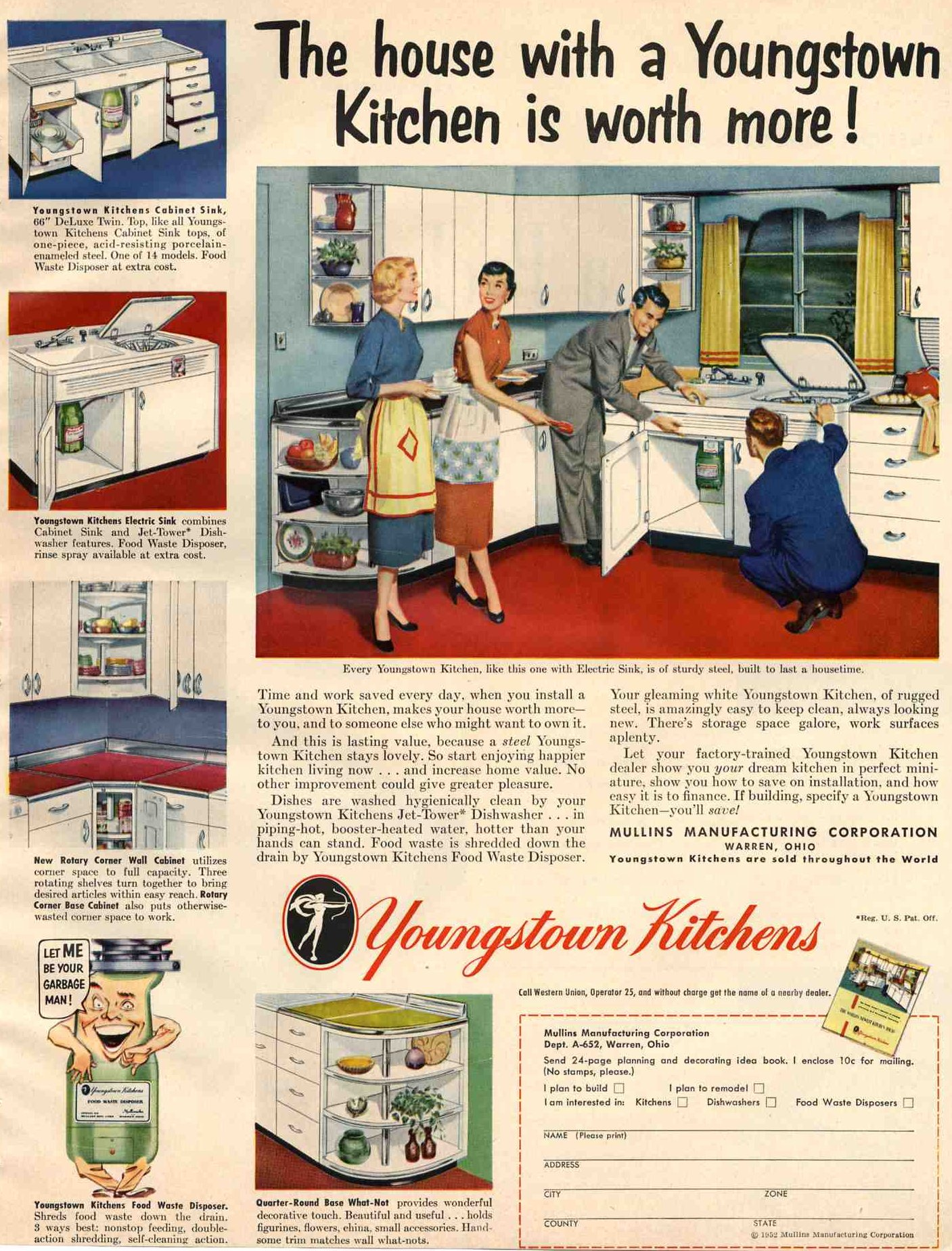 Youngstown kitchens related keywords amp suggestions 1952 youngstown