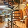 midcentury-spiral-staircase