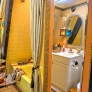 retro-yellow-bathroom-a-frame