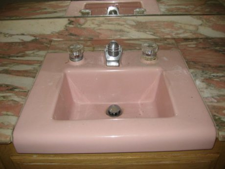 Replacement parts for a bathroom faucet or toilet - Retro Renovation