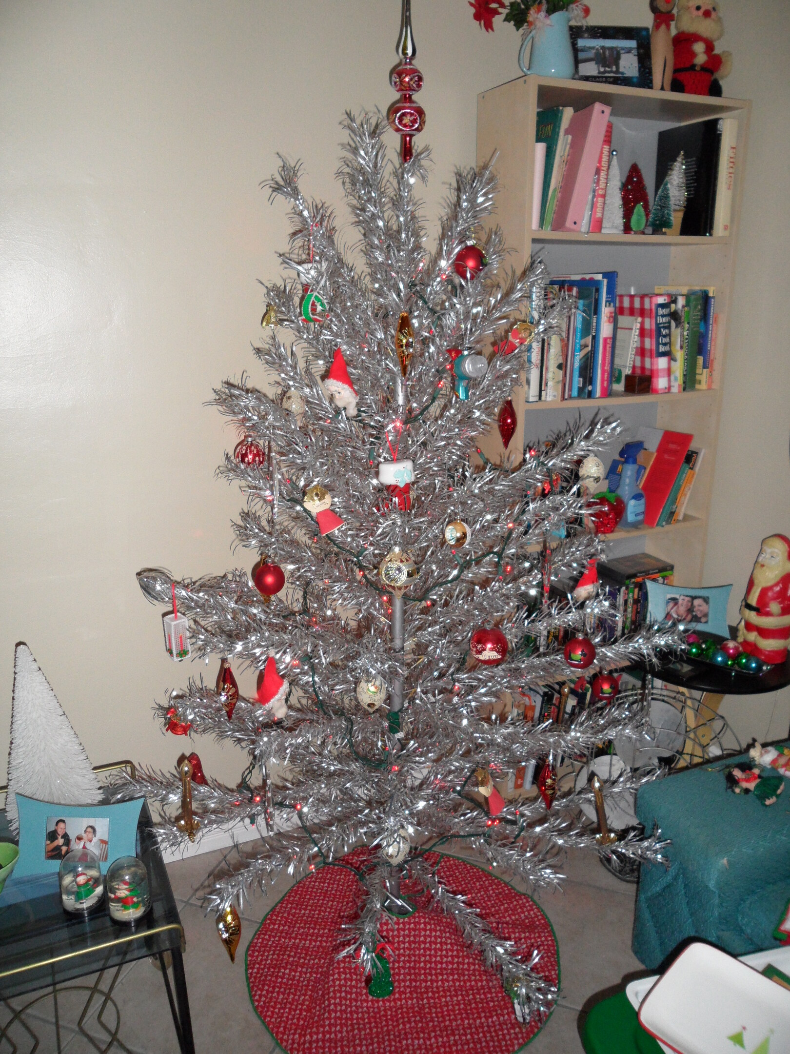 Retro Aluminum Christmas Tree