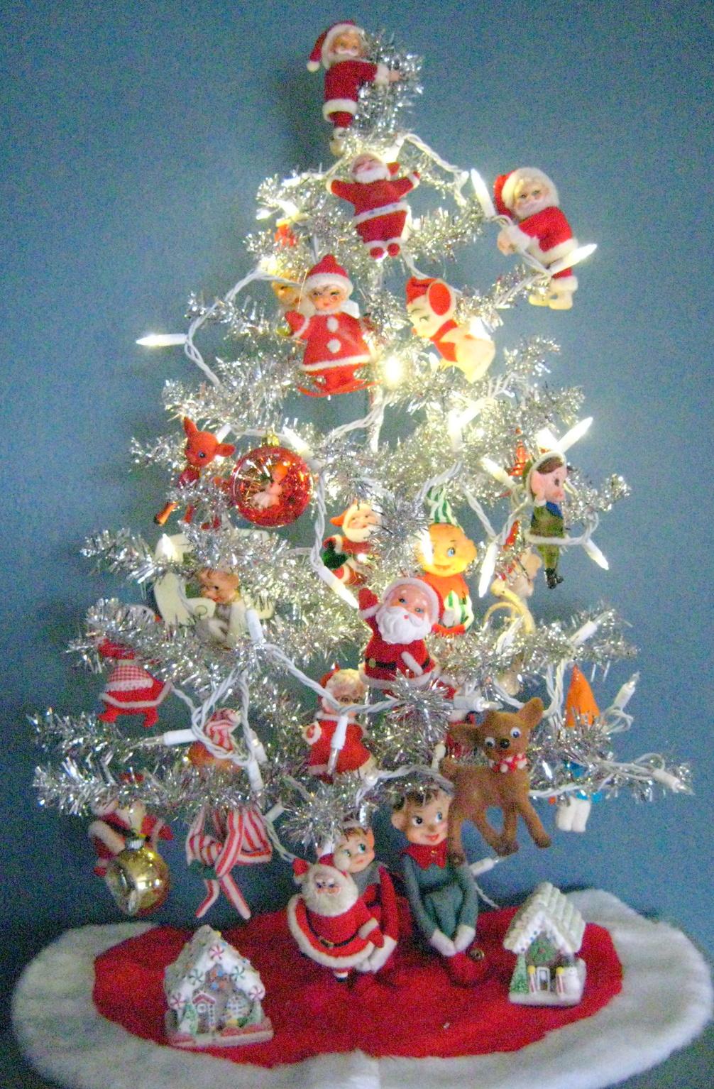 Tinselmania vintage aluminum christmas trees retro