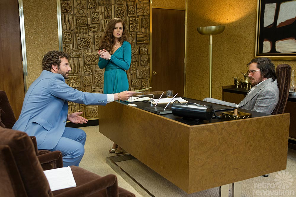 American Hustle 1970s Interior Design Full Of Artifice