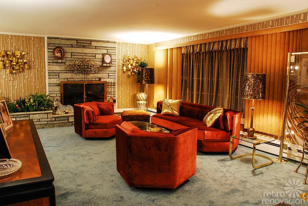 American Hustle 1970s Interior Design Full Of Artifice