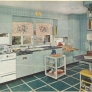 vintage-blue-kitchen