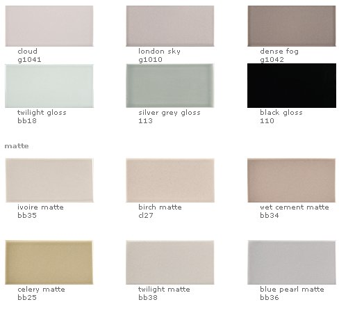 Ceramic Tile In 147 Colors And 26 Sizes From Ann Sacks