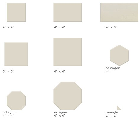 bathroom tile sizes ceramic tile in 147 colors and 26 sizes from sacks 11700