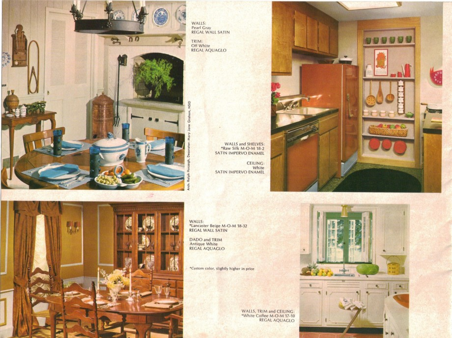 15 pages of brady bunch house colors 1969 retro renovation for T s dining virden