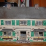 vintage metal dollhouse