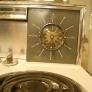 vintage stove clock