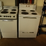 18 and 24 inch vintage stoves