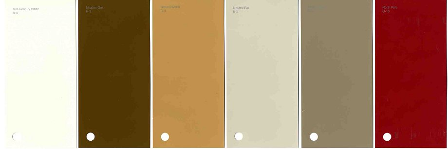 New Historic Paint Colors For Arts Crafts Bungalows Retro - Arts and crafts interior paint colors