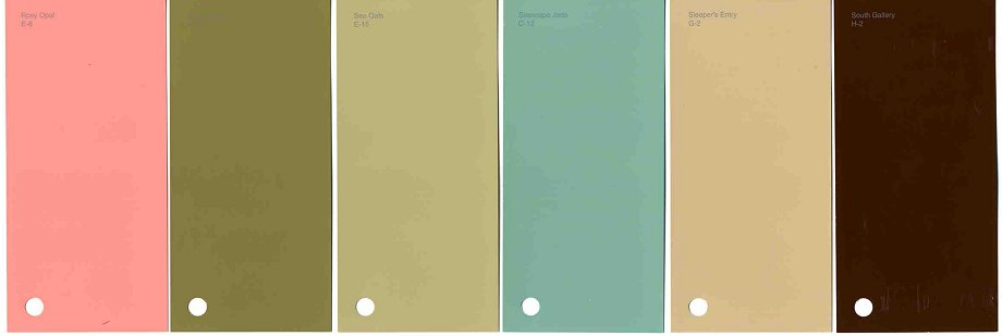 46 New Historic Paint Colors For Arts Crafts Bungalows