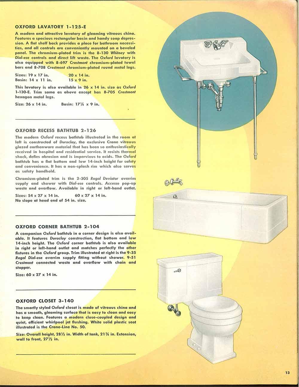 24 pages of vintage bathroom design ideas from crane for Bathroom design catalogue