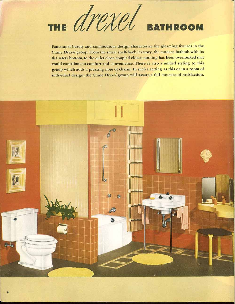 24 pages of vintage bathroom design ideas from crane for Bathroom ideas catalogue