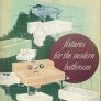 Crane fixtures for the modern bathroom catalog 1949