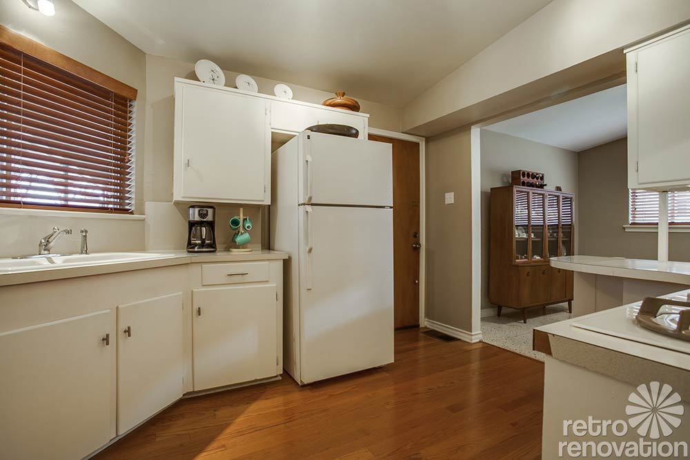 Kitchen Bath Remodel Gives Mid Century Home Modern Updates: 1956 Dallas Time Capsule House With Jack 'n Jill Bathroom