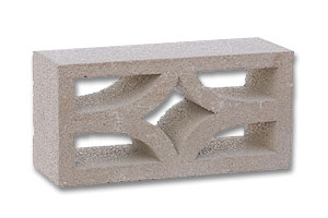 starfire screen block orca - Decorative Concrete Block
