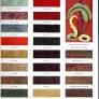 1938 colors of vintage formica