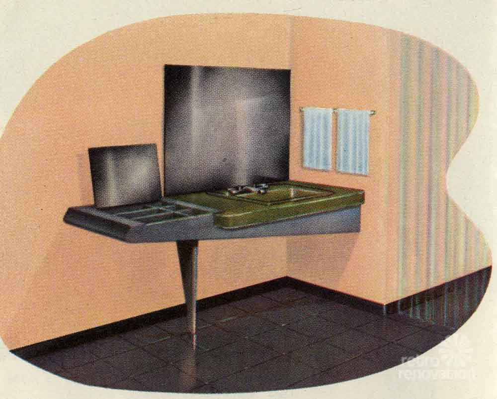 Awesome And An Ensuite Bathroom With Original Pink Tiling, Yellow Boomerang Formica Vanity, And Period Hardware The Other Two Bedrooms Come With Original Wood