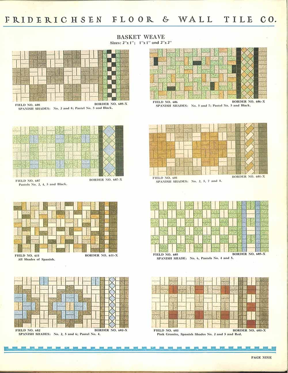 112 patterns of mosaic floor tile in amazing colors vintage 1930 ceramic floor tiles dailygadgetfo Images