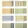 vintage 1930 ceramic floor tiles
