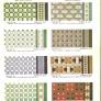 ceramic floor tiles in vintage patterns