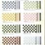 vintage floor tile patterns and colors 1930s