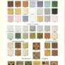 Vintage tile colors and styles 1929