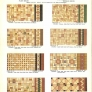 vintage ceramic floor patterns for ceramic tile 1930s