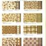 vintage ceramic floor patterns for ceramic tile 1930s