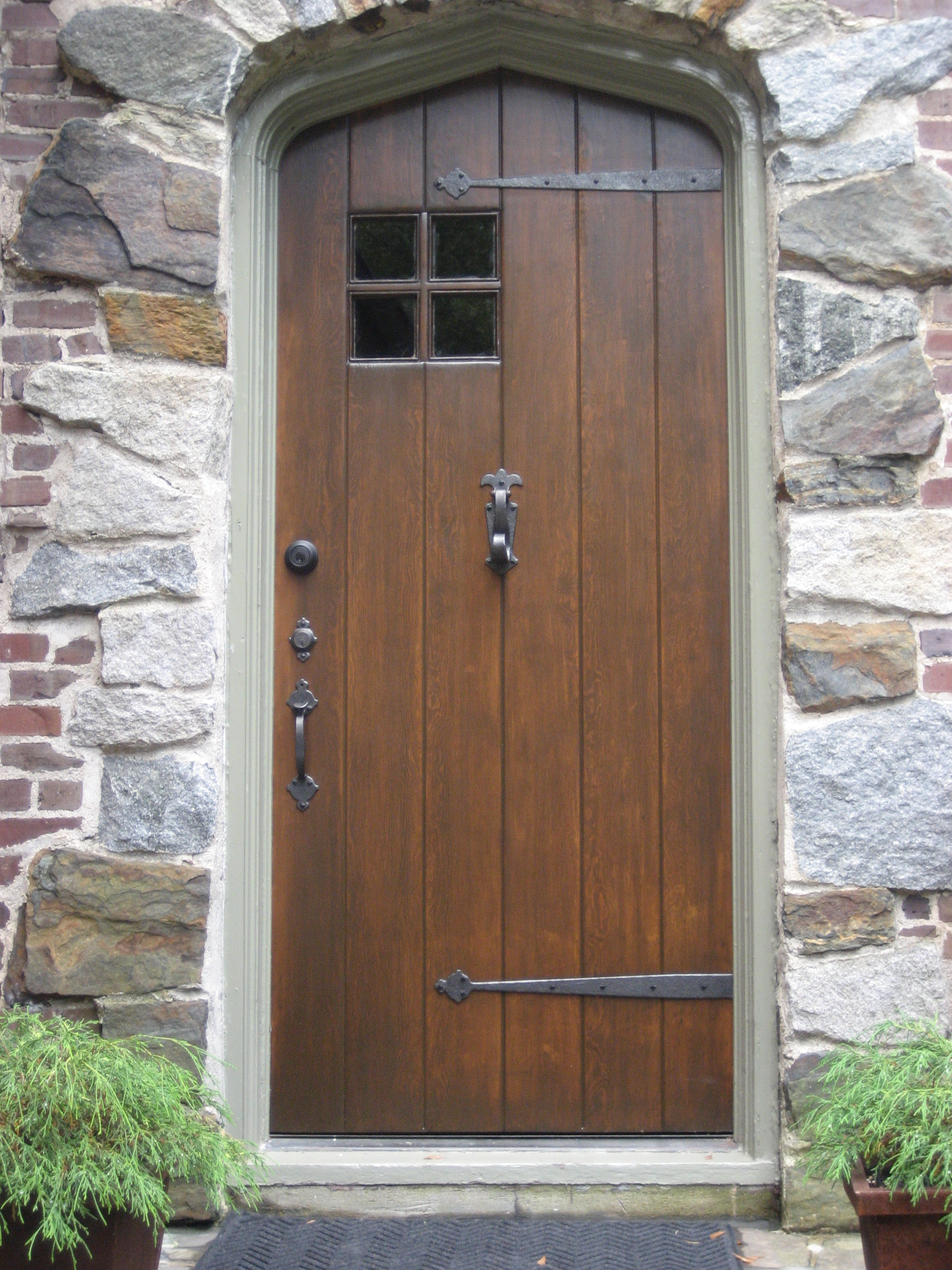 38 pretty front doors upload a photo of your front door for Exterior door with window