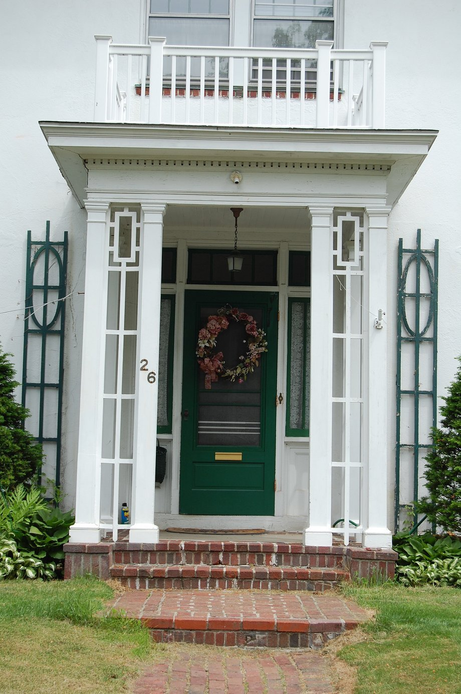 38 pretty front doors upload a photo of your front door - Front doors on white houses ...
