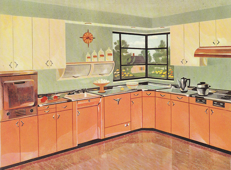 13 pages of Youngstown metal kitchen cabinets - Retro ...