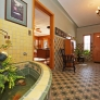 entryway-with-vintage-tile-and-fountain