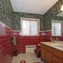 vintage-burgundy-and-grey-tiled-bathroom