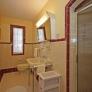 vintage-maroon-and-white-bathroom