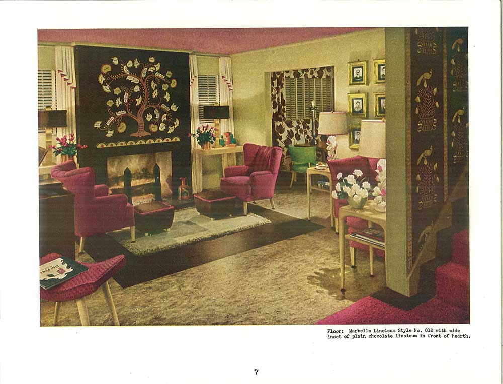 1940s Decoration Ideas · 1940s Living Room Decorated
