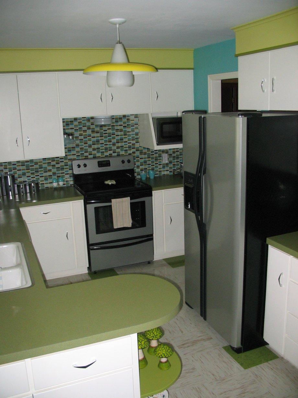 "Janice's ""Retro Renovation Inspired Kitchen"""