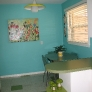 turquoise-and-apple-green-kitchen