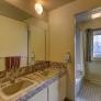 Eb Zeidler architect gray bathroom