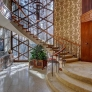 Eb Zeidler architect house canada entrance stairway